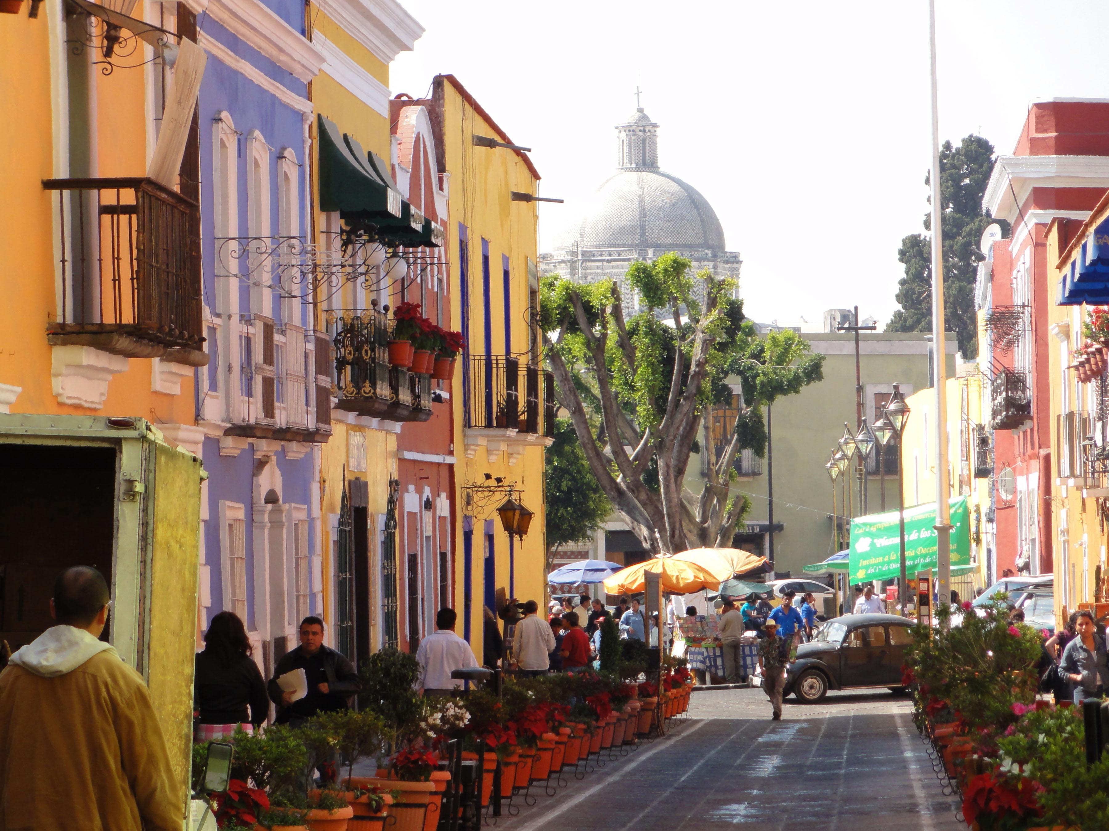 Los Sapos, uno de los barrios de Puebla.